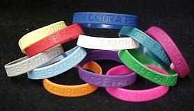 Silicone Bracelets Cancer & Cause Awareness