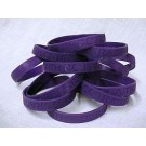 ADHD Awareness Purple Bracelets Attention Deficit Hyperactivity Disorder 6 Piece Lot