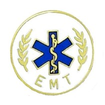 EMT Star of Life Lapel Pin Emergency Medical Technician Medical Graduation  5002