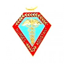 Nurses Assistant Pin Caduceus Professional Medical Emblem 5006