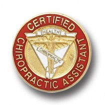 Certified Chiropractic Assistant Professional Chiropractor Health Lapel Pin 5065