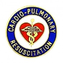 CPR Lapel Pin Cardio Pulmonary Resuscitation Medical Emblem 991