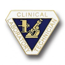 Clinical Laboratory Technician Lapel Pin Professional Medical Emblem 994 Lab Tech