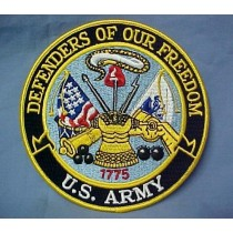 US Army Defenders of Our Freedom Embroidered Emblem Patch 5""