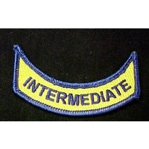 INTERMEDIATE Official Embroidered Emblem Rocker Patch Set of 2 VA Virginia
