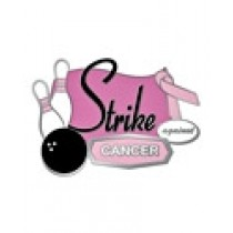 Breast Cancer Bowling Lapel Pin Awareness Strike Against Cancer Bowlers Tournament Pink Ribbon Sports Cap Tac