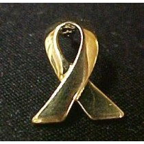Childhood Cancer Awareness Lapel Pin Small Gold Ribbon Children Cap Tac