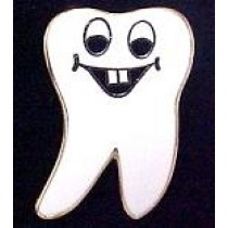 Dental Dentist Tooth Lapel Pin Professional Medical Smiley Face Teeth 114