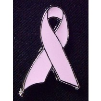 Pink Breast Cancer Awareness Ribbon Lapel Pin October Awareness Month Help Save Lives