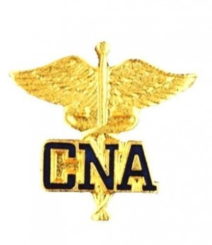 CNA Lapel Pin Certified Nurses Aid Nursing Assistant Caduceus Medical